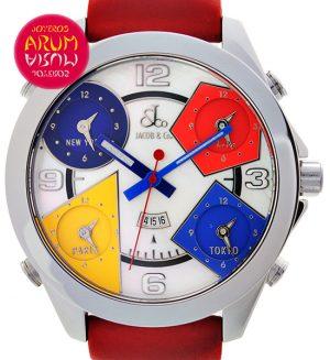 Jacob & Co Time Zones Shop Ref. 3979/704