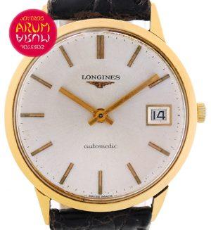 Longines Vintage 18K Gold Shop Ref. 3591/268