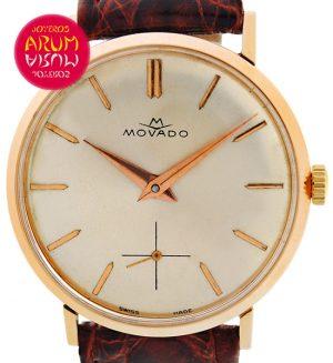 Movado Vintage 18K Gold Shop Ref. 3589/266
