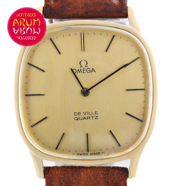 Omega De Ville Gold Quartz watch   Omega watch vintage
