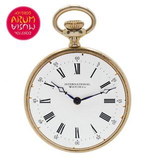 IWC Pocket Watch 18K Gold Shop Ref. 3796/504