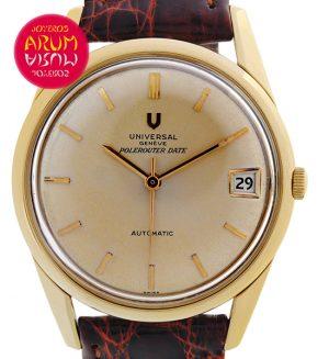 Universal Geneve Vintage 18K Gold Shop Ref. 3587/264