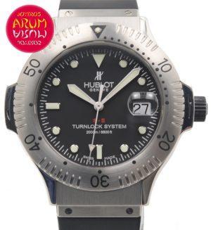 Hublot S-II Diver Shop Ref. 4024/747