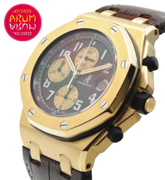 Audemars Piguet Arnold Schwarzenegger Shop Ref. 4056/779