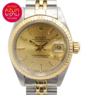 Rolex Datejust Steel & Gold Shop Ref. 4094/817