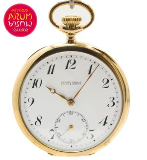 Ulysse Nardin Pocket Watch 18K Gold Shop Ref. 4064/787