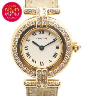 Cartier Vendome Gold & Diamonds Shop Ref. 4090/813
