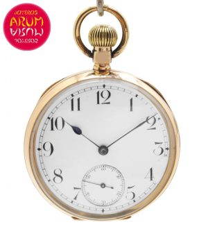 Pocket Watch 14K Gold Shop Ref. 4136/859