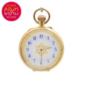 Small Pocket Watch 18K Gold Shop Ref. 4131/854