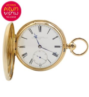 J.R Losada Pocket Watch 18K Gold Shop Ref. 4137/860