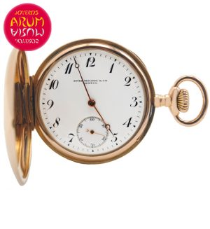 Patek Philippe Pocket Watch 18K Gold Shop Ref. 4133/856