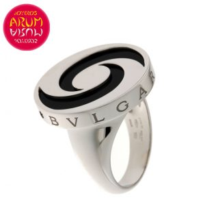 Bulgari Ring Optical Illusion White Gold RAJ1029