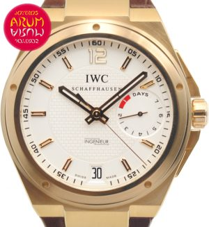 IWC Ingenieur Rose Gold Shop Ref. 2641
