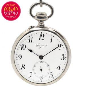 Longines Pocket Watch Silver Shop Ref. 4206/931