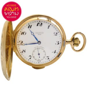 Fix Repetition Pocket Watch 18K Gold Shop Ref. 4214/939