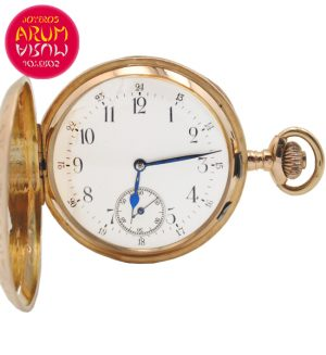 Pocket Watch 18K Gold Shop Ref. 4182/907