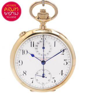 Universal Watch Chronograph Rattrapante Shop Ref. 4236/961