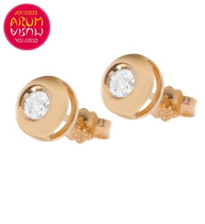18K Rose Gold Earrings with Diamond 0.36 ct. RAJ1044