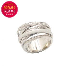 18K White Gold Ring with 57 Diamond 0,86 cts. RAJ1071