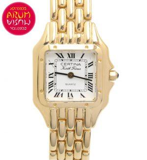Certina Kurth Freres 18K Gold Shop Ref. 4352/1076