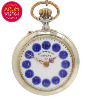 Gre Roskopf Patent Pocket Watch Shop Ref. 4202/927