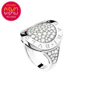 Bulgari Ring White Gold and Diamonds RAJ1098