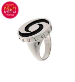 Bulgari Ring Optical Illusion White Gold RAJ1089