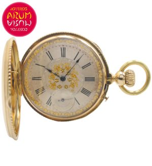 Pocket Watch 18K Gold Shop Ref. 4382/1106