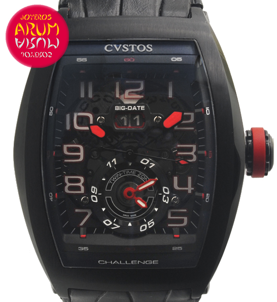 Cvstos Challenge Twin Time Shop Ref. 4538/1160