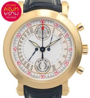 Franck Muller Biretro Chronographe Shop Ref. 4544/1166