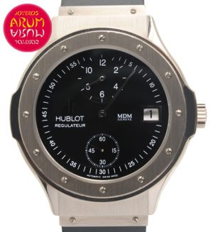 Hublot Regulateur White Gold Shop Ref. 879