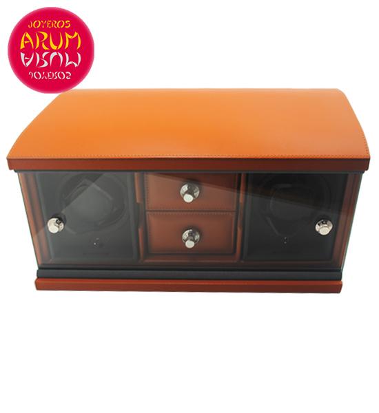 Underwood London Luxury Rotobox for 3 Watches RAJ1157