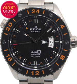 Edox Class1 GMT Shop Ref. 4559/1181