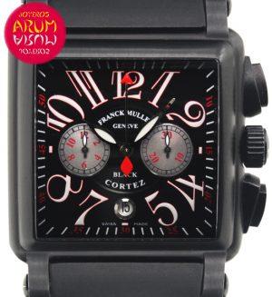Franck Muller Black Cortez Shop Ref. 4565/1187