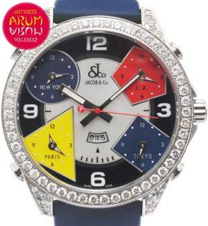 Jacob & Co Time Zones Shop Ref. 4570/1192