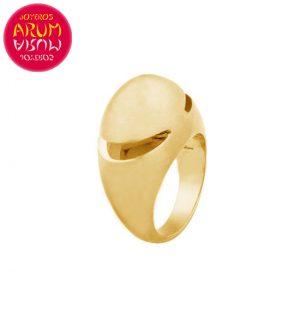 Bulgari Cabochon Ring Yellow Gold RAJ1168