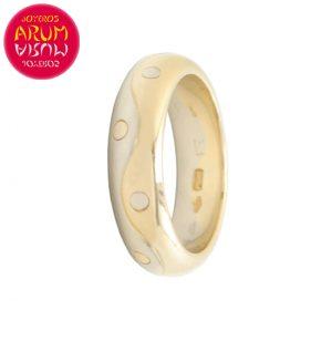 Bulgari Ring Yellow and White Gold RAJ1153