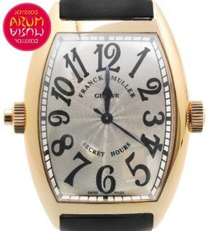 Franck Muller Secret Hours Shop Ref. 4613/1235