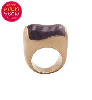 Vasari Ring Rise Gold with Amethyst RAJ1155