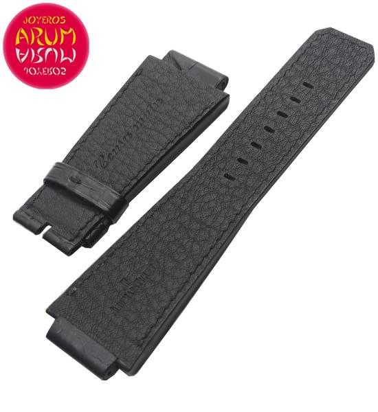 Z Audemars Piguet Strap Black Croco Leather 22 - 22 RAC1144