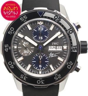 IWC Jacques-Yves Cousteau Shop Ref. 4672/1294