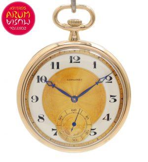 Longines Pocket Watch 18K Gold Shop Ref. 4618/1240
