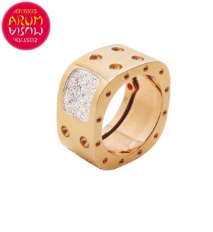 Roberto Coin Ring Rose Gold and Diamonds RI9072