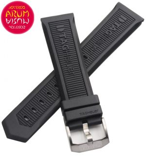 Z Tag Heuer Rubber Strap 22 mm RAC1211
