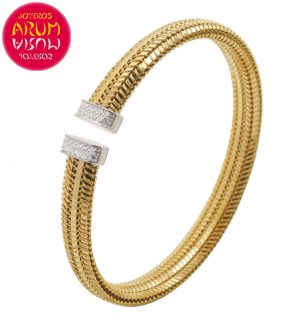 Roberto Coin Bracelet 18K Gold and Diamonds BA2476