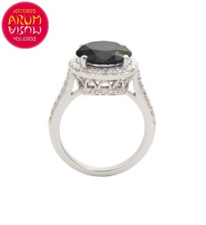 White Gold Ring with Black Diamond 1.60 cts RAJ1224