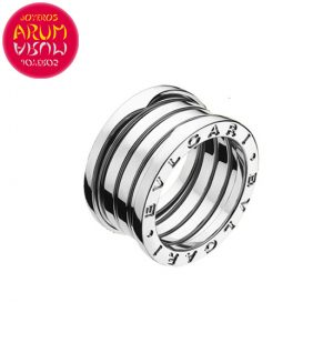 Bulgari Ring B.Zero1 White Gold 4 Band RAJ1218