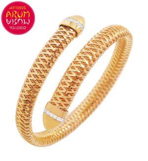 Roberto Coin Bracelet 18K Rose Gold and Diamonds BA2549R