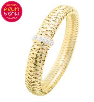 Roberto Coin Bracelet 18K Gold and Diamonds BR2388A