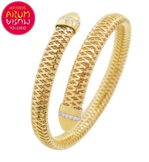 Roberto Coin Bracelet 18K Gold and Diamonds BA2549A